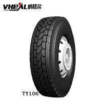 Wholesale semi truck tires 18 wheeler new 12.00r20 radial tire 11r24.5