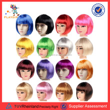 PGW-1887 China yiwu wholesale cheap hair wig bob wig full lace human hair wig