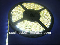 3528 led strip;Cold White Color;60leds/m;5m/reel;DC12V input;White PCB;Waterproof silicon coating IP65