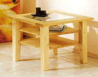 Solid wood cheap european coffee table small