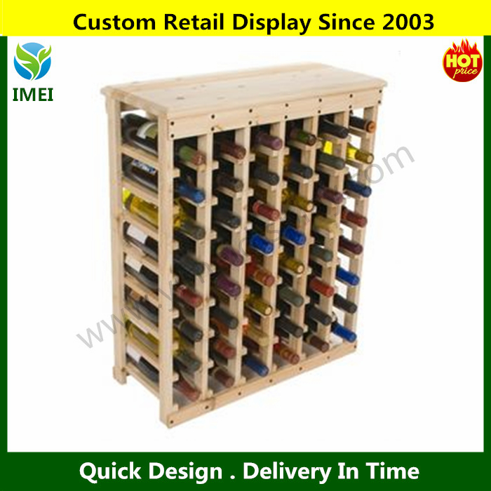 whisky display floor stand retail bottle display racks shelf in brand chain stores YM07327