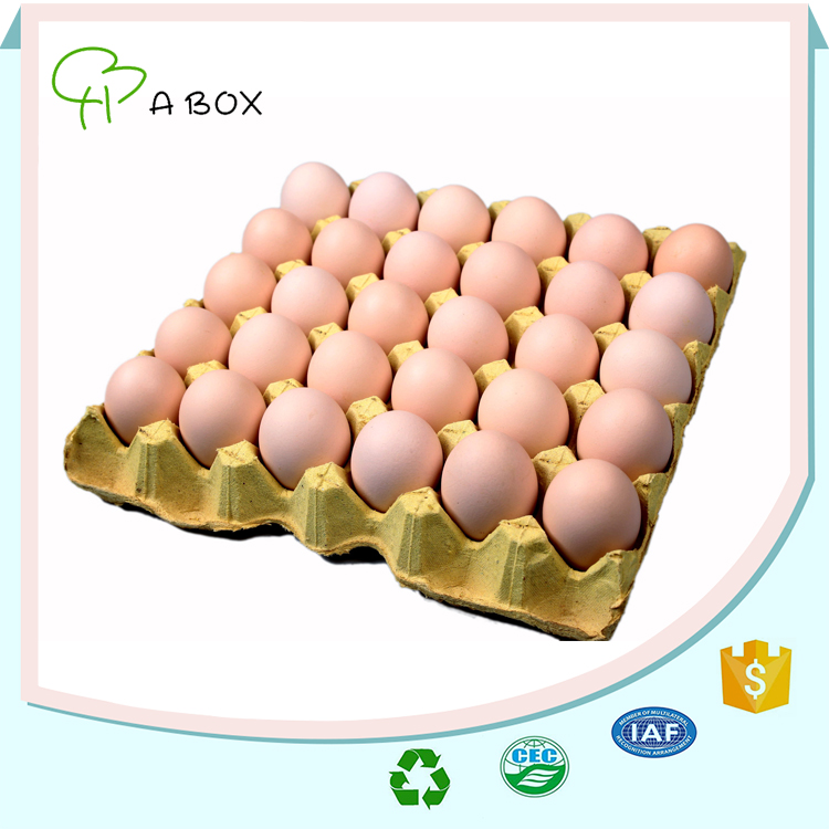 China factory simple design wholesale paper egg tray