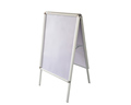 a1 outdoor aluminum activity folding A-BOARD poster movable display stand