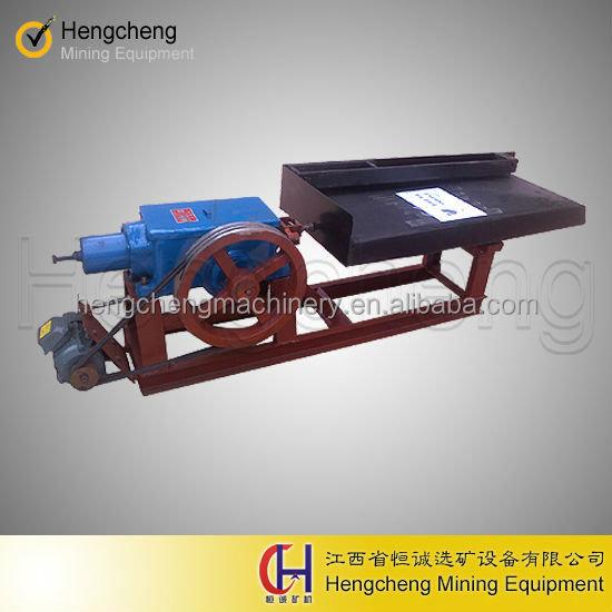 Laboratory Shaking Table gold extractor equipment for mineral processing