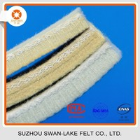 Excellent quality Withstanding 500 C/932 F High Temperature Resistant Kevlar Felt Pad for Aluminium Extrusion