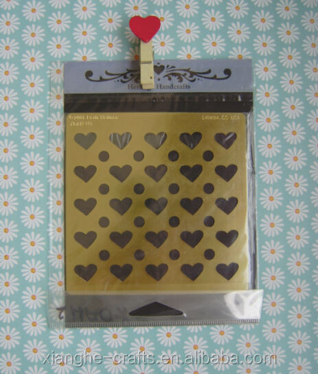 Wholesale hobby stencil metal sheets for crafts buy for Metal sheets for crafting