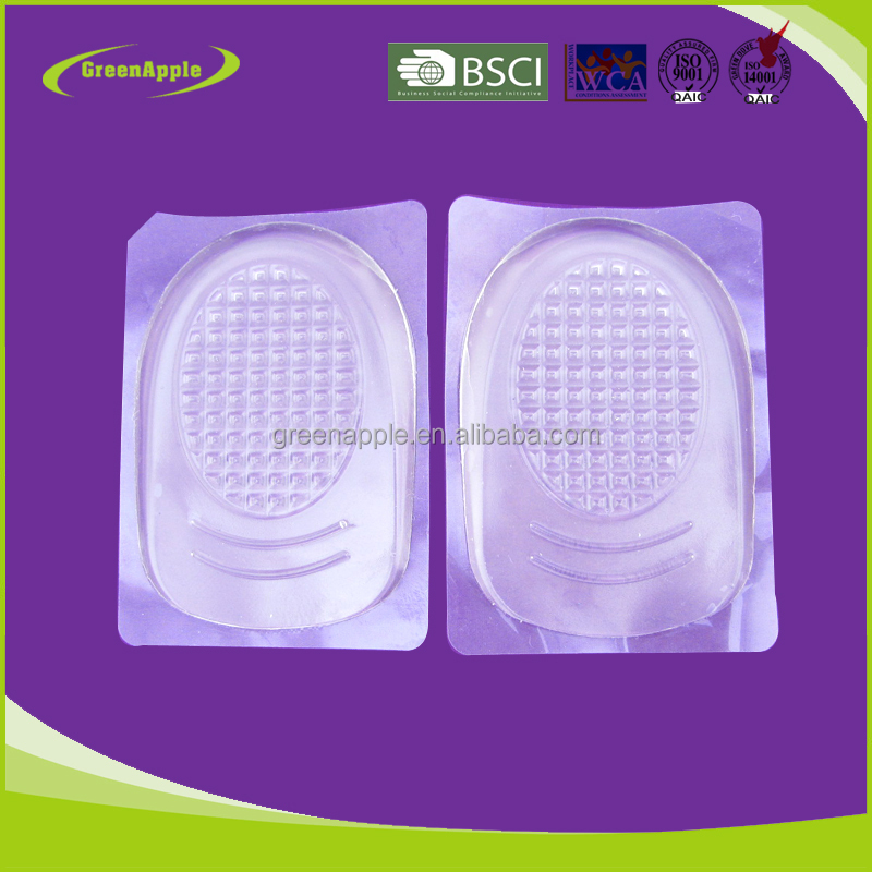 Summer Foot Spur Pain Relief Mini Silicone Gel Cushion Shoe Gel Protector Insole