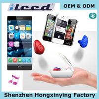 Hands free mini bluetooth V4.1 earphone portable power case cordless earbuds