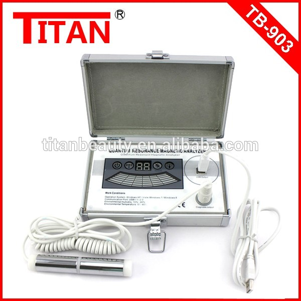 Quantum health test machine 41 reports quantum magnetic resonance body analyzer body health checking