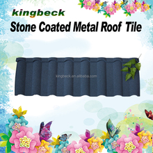 Villa House Stone Coated coated metal roof tile/spanish style stone tiles