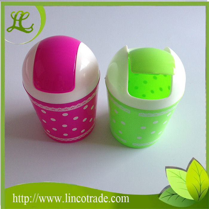 Office Mini Plastic PP Desk Dustbin