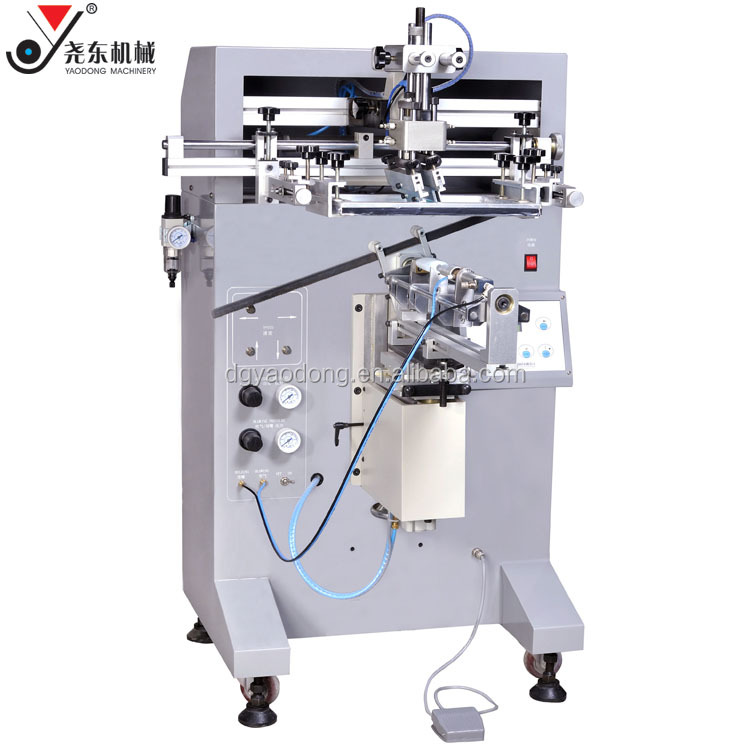 manufacture plastic and glass bottle silk screen printing machine