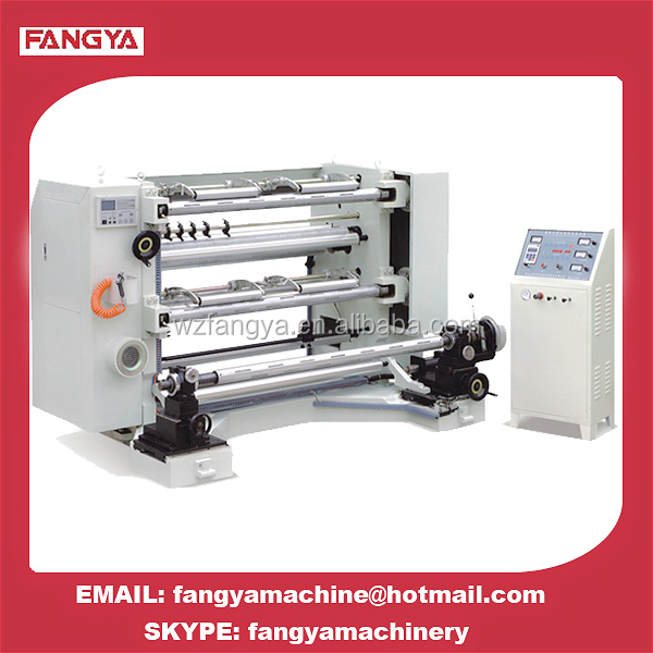 High Speed Automatic Computerized Paper Aluminum Foil Film Roll Slitting and Rewinding Machine for Film