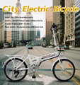 shuangye mini 20 inch hidden battery folding electric bicycle
