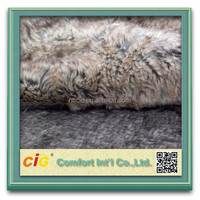 Wolf Fake Fur For Garment/Shoe/Seat Cover