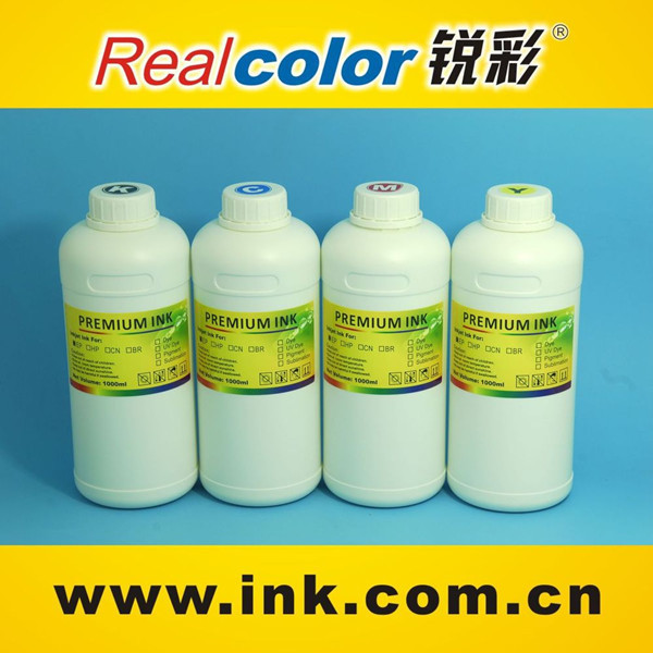 Top sale 4 colors 1 litre UV dye ink for Canon printer