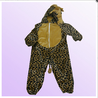 Children Leopard Animal Costume Pattern for Party Child Boutique Clothing Wholesale Children Cothes