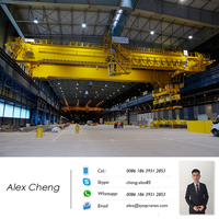 Magnetic Crane For Steel Coil Scrap Bar Pipe Handling Lifting Magnet Overhead Crane Bridge Crane With Electromagnetic Chuck