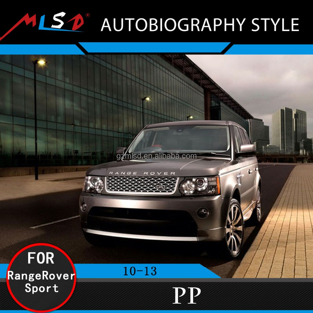 Car Bumper Styling Limited Edition SV Autobiography Style Bodykits For Range Rover Sport Body Kit 2010-2013