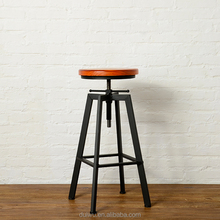 Factory hot selling adjustable 60-80cm height industrial metal singer stool