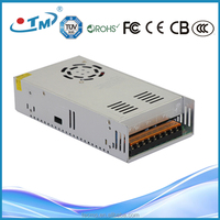 Newest design 360w transformer catalytic converter IP20 12v 30a led power supply 12v30a with CE FCC TUV