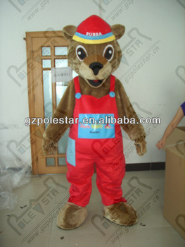 red pants style fox mascot costumes NO.4426