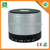 Best selling round speaker aluminum bluetooth speaker manufactuer and wholesaler
