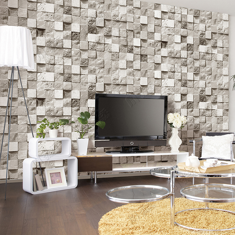 China factoryu good Sale Cheap Wholesale pvc vinyl wallpaper 3d
