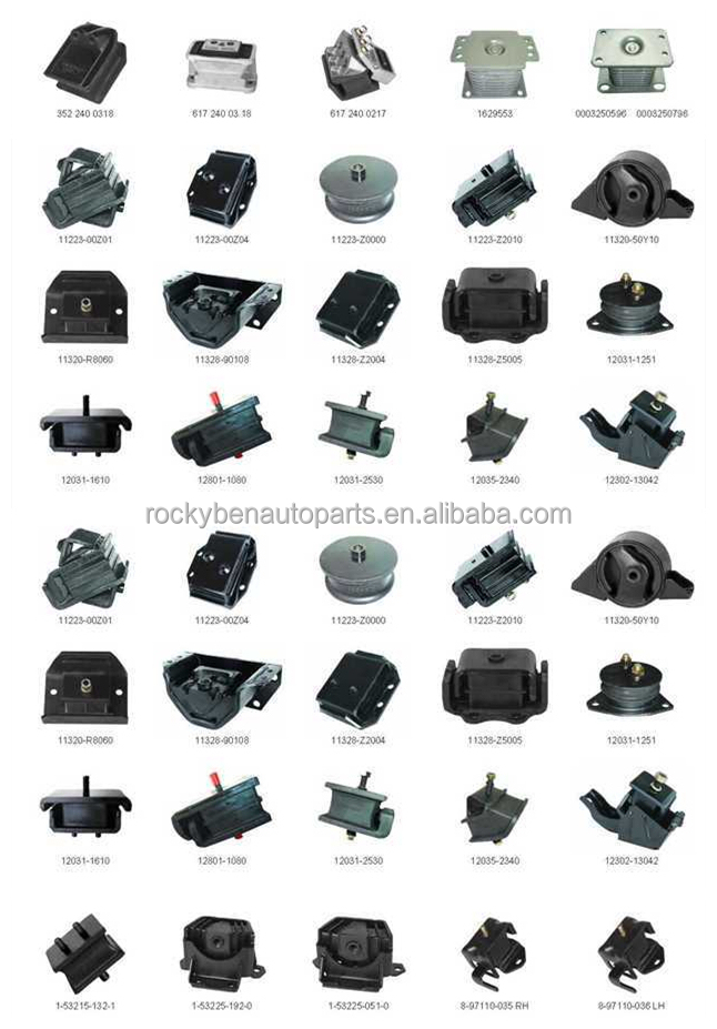Cars auto parts engine parts for Toyota engine mounts 12372-74120 ...