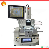 Most economic automatic WISDOMSHOW BGA rework station WDS-620 bga reballing kit system with video