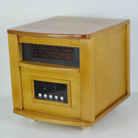 wooden electric cabin heater