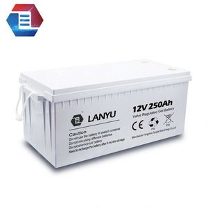 Factory direct sale price LiFePO4 12V 24V 250AH 200AH Storage Battery Pack replacing gel battery for Solar Power Station