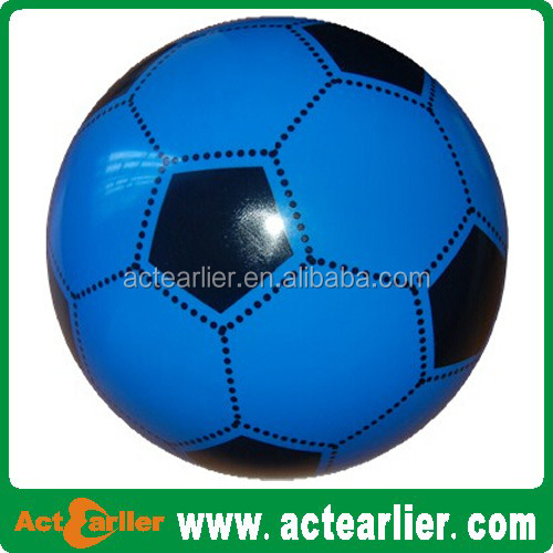 2015 good quality eco-friendly inflatable toy ball pvc soccer ball