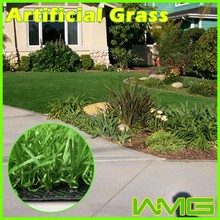 Uv resistant 19950 density landscaping artificial grass for gardens