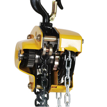 lifting tool chain hoist hand operated chain block