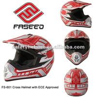 Motorcross helmet with ECE and DOT approved FS-601&FS-603