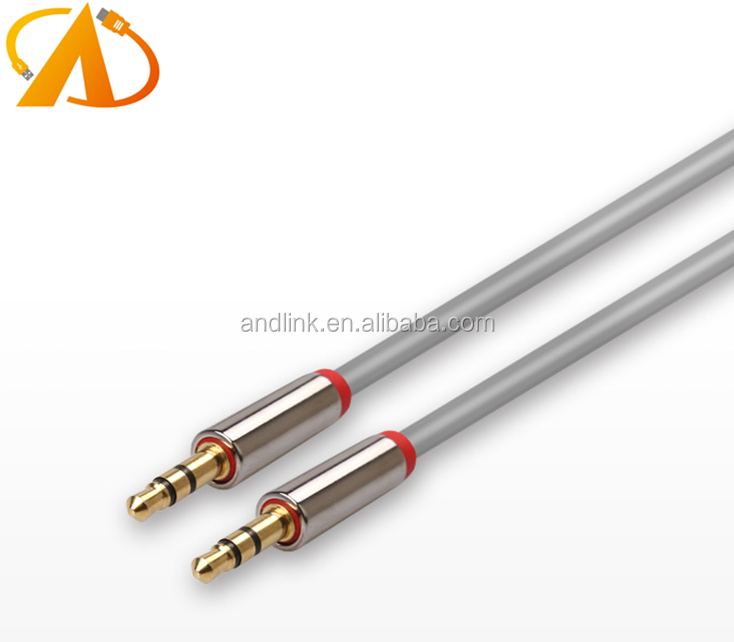 High qaulity AUX Cable 3.5mm Male to Male Auxiliary Audio for Car / Home Stereos, Phones, iPods, Headphones Beats and More