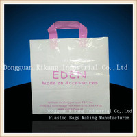 factory custom large resealable plastic bags with waterproof for sale
