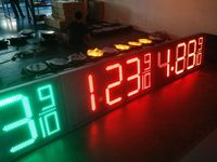 Smart remote control used led gas price sign