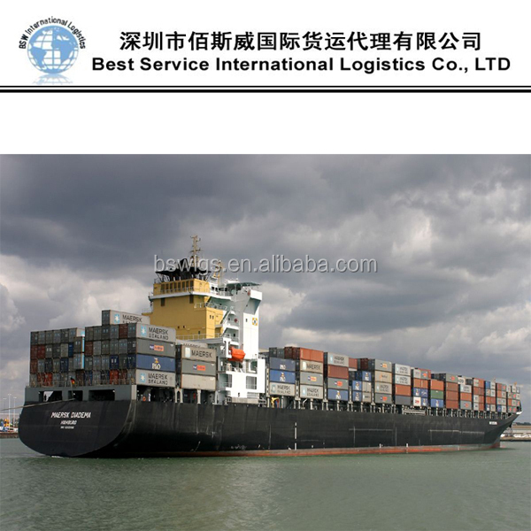Shipping From SHENZHEN/GUANGZHOU/NINGBO/SHANGHAI to BEIRUT Lebanon by sea freight FCL/LCL High Quality Shipping from China