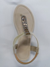 Simple Design Tpr Sole Lady Casual Topless Sandal