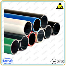 Black ABS pipe/colored lean tube/compound lean pipe for rack