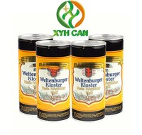 Hot Sale 1L Round Empty Can Packaging For Beer
