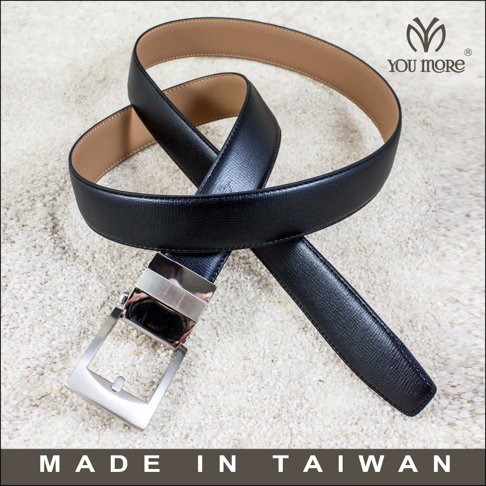 Best automatic carbon fiber buckle leather belt without the buckle