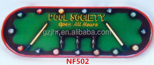 Billiard Decoration Bar sign