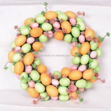 Top quality foam easter eggs wholesale/ easter wreath