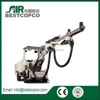 hydraulic borehole water well drilling machine H281 for sale,rock mining drilling rig