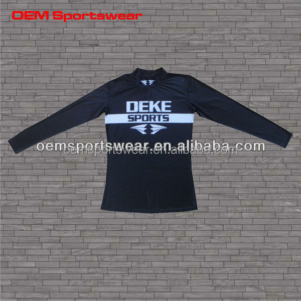 Custom made performance compression shirts