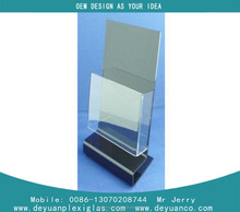 high quality Manufacturing A4 acrylic display clear acrylic document display holder