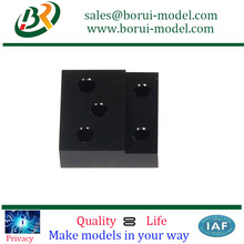 Rigorous Standards CNC Machine POM Spare Parts With Experts Design Used For Electronic Parts
